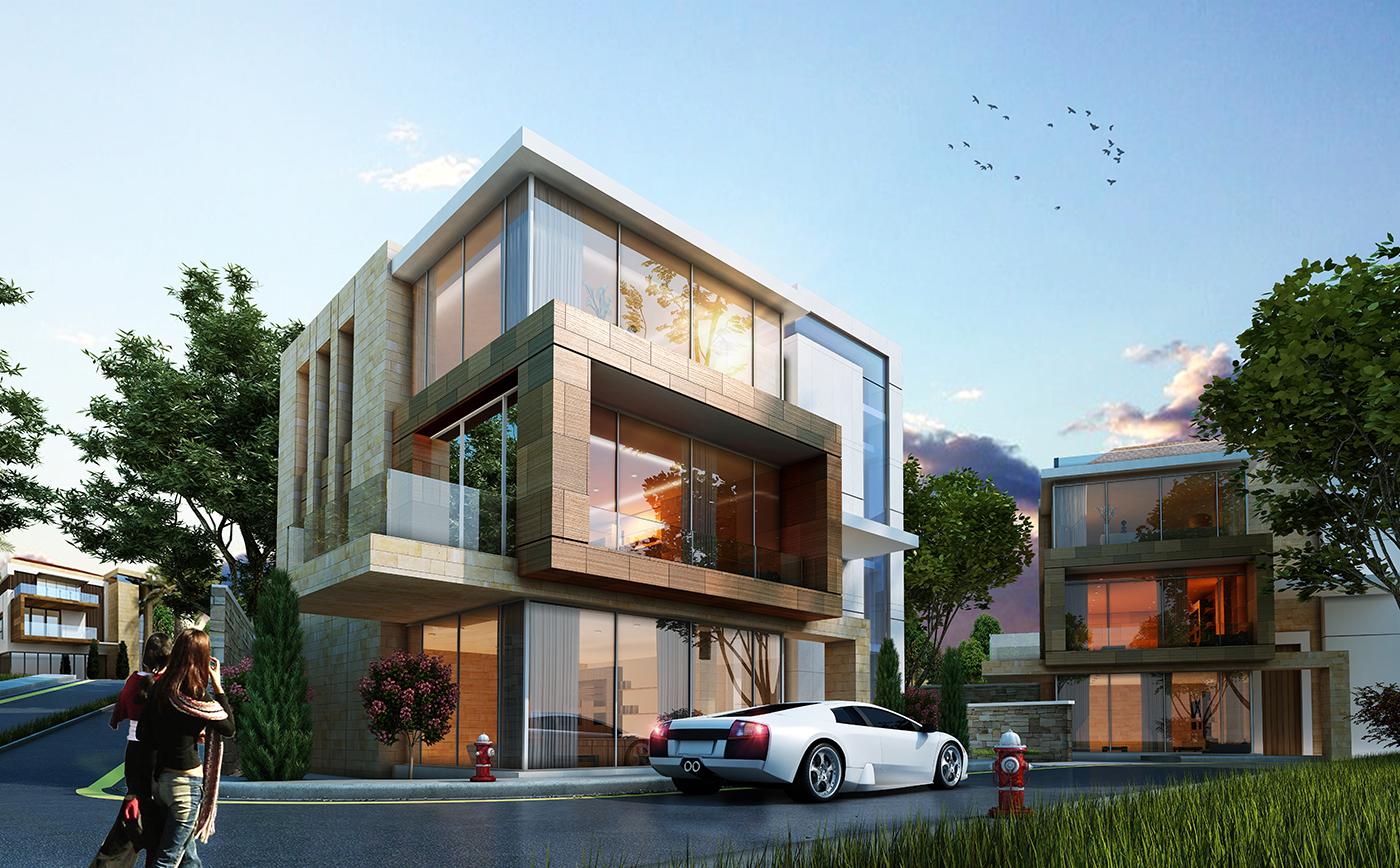Escape lebanon landing page for Modern house lebanon